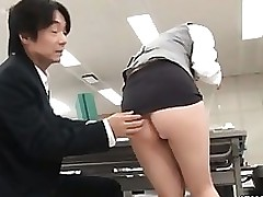 japanese floozy receives sexually aroused showing asian brunette cfnm fetish