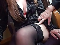 risa arisawa nasty japanese chico love office blowjob pov lingerie