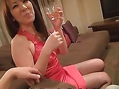 misa yuki sticky placid eastern temptress attains jizz face hole