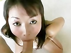gagging jap wench obtains face dug pov gzh blow job