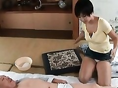 lustful oriental milf insane jerking asian granny hairy interracial japanese