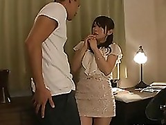 magnificent japanese milf yuu konishi admirable headfuck blowjob cumshot fisting