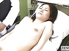 subtitled enf cmnf cfnf japanese medical rectal opening massage group