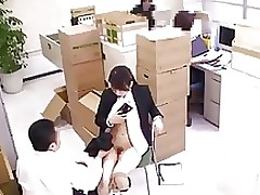 fucking office scene censored asian japanese
