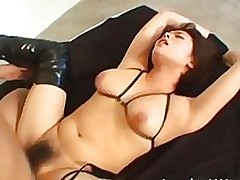 breasty japanese pretty receives tittyfucked part1 amateur asian boobs bukkake
