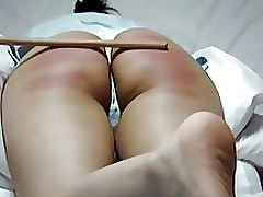 korean juvenile rigid spanked butt amateur asian