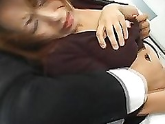 miki yoshii appealing japanese hottie receives sextoy penetration anal group