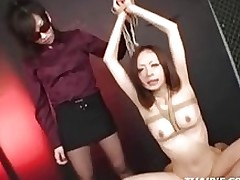 dominated oriental attains creampie asian bdsm