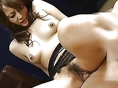 gorgeous appealing japanese honey receives creampie chinese