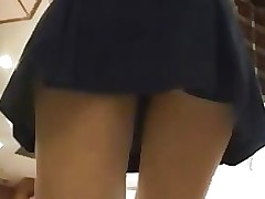 lookie freak panties skirts asian ass japanese outdoor public uniform