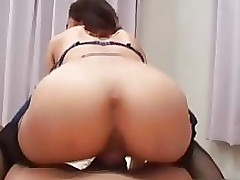 titsy japanese babe underclothes blowing part3 asian brunette bukkake gangbang