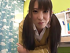 spicy japanese youthful exemplar yuuki itano engulfs pride swallows blowjob