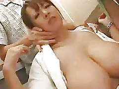 nurse hitomi f70 asian boobs facials