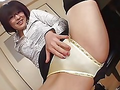pantyjob scene censored asian japanese stockings
