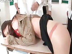 oriental school mentor team banged genus room amateur asian bukkake