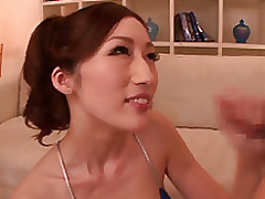japanese milf julia sweaty fuckfest session handjob gang bang tits