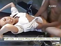 yua aida spotless chinese nurse enjoys lots love asian babe