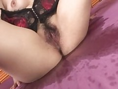 sticky boobsy brunette hair chicito sexy pants petted bonked milf
