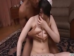 subtitled irate gentleman directs nudist japanese woman servant uncensored pale