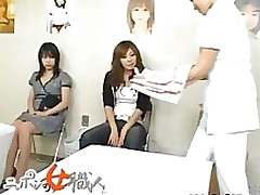 japanese wife examining female workers part6 amateur asian babe boobs