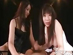 marvelous princess devil amateur asian brunette handjob japanese threesome
