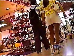 public asian japanese outdoors underwear upskirt voyeur