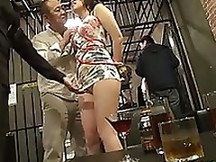 perspired chinese dears participate group fuck together bondage creampie hardcore